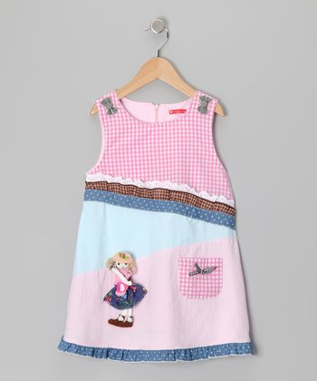 Pink Dolly Gingham Dress - Infant & Toddler