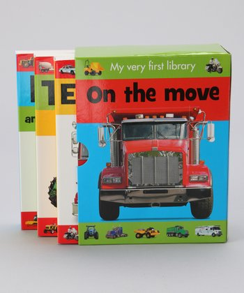 My Very First Library: On the Move Boxed Board Book Set