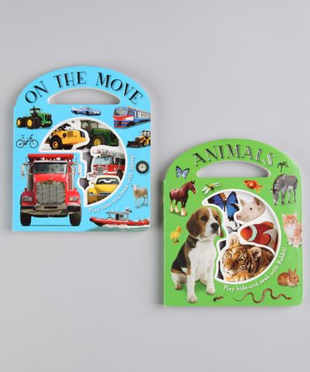 Animals & On the Move Board Books