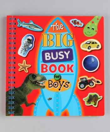The Big Busy Book for Boys Paperback