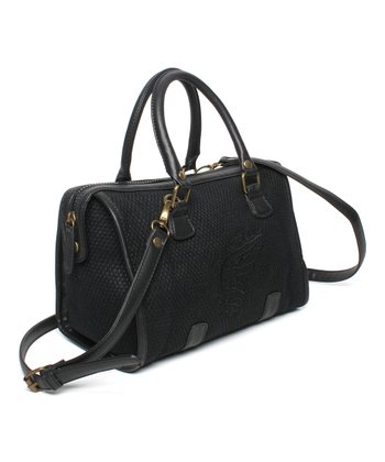 Black Nightfall Organic Satchel