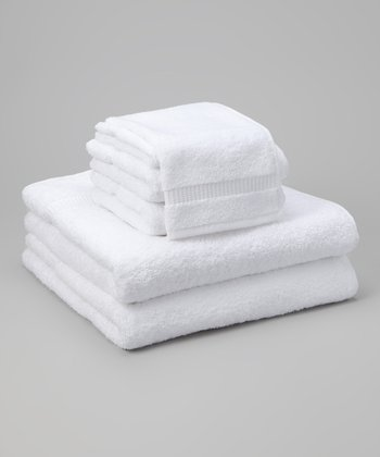 White Cambridge Towel Set