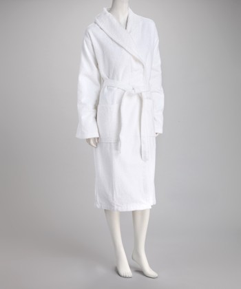 White Luxury Bathrobe