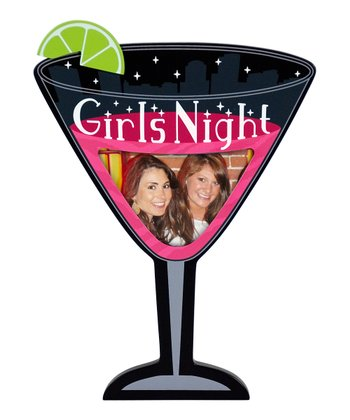 'Girls Night' Martini Glass Frame