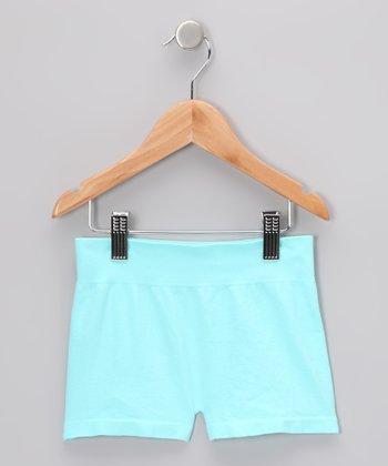 Malibu Sugar Aqua Shorts - Girls