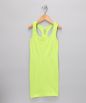 Lime Racerback Dress