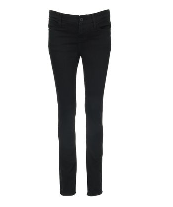 Mama Jeanius Black Joy Under-Belly Maternity Skinny Jeans