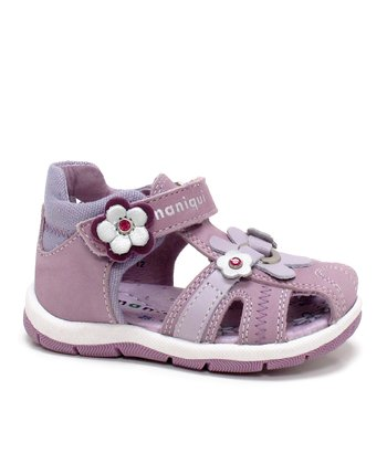 Purple & Lavender Feria Closed-Toe Sandal