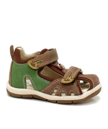 Chestnut & Cactus Liam Closed-Toe Sandal