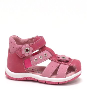 Fuchsia & Pink Rosane Closed-Toe Sandal
