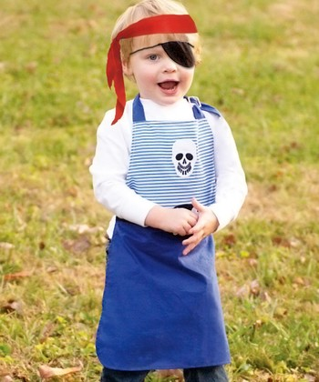 Pirate Apron Set - Toddler & Kids