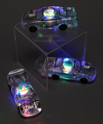 Light-Up Marble Racer Toy Set