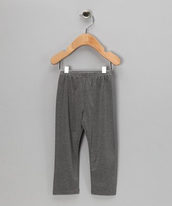 Gray Leggings - Toddler & Girls