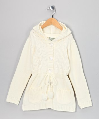 Ivory Laura Duster - Toddler & Girls