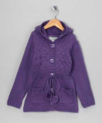 Purple Laura Duster - Toddler & Girls