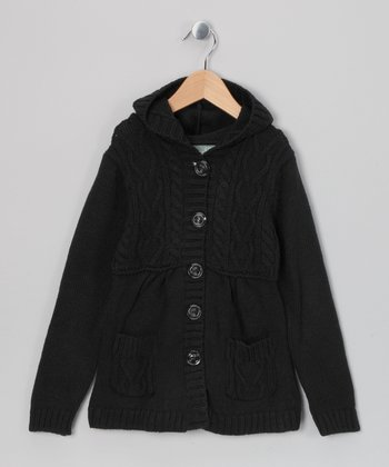 Black Mona Duster - Toddler & Girls