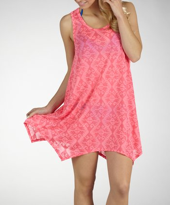 Sugar Ray Scoop Neck Cover-Up