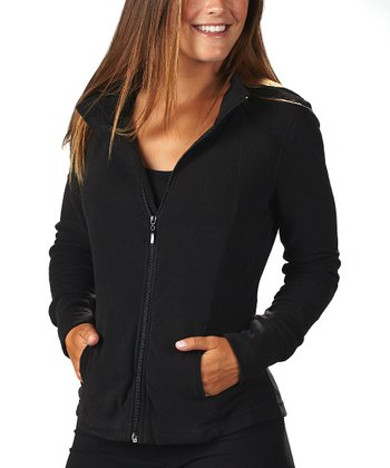 Black Fleece Jacket