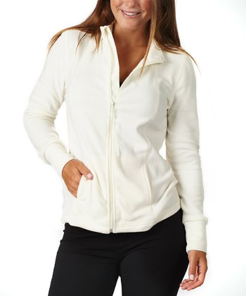 Cloud Cream Fleece Jacket