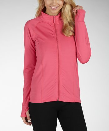 Fandango Pink Alpine Microfleece Lighting Jacket