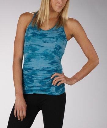 Caneel Bay Mirror Reflection Secret Slimming Racerback Tank