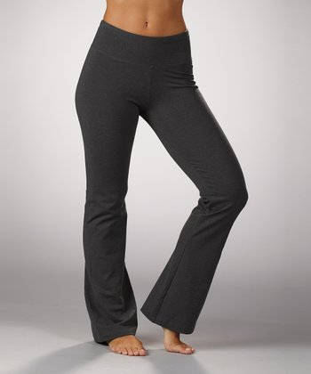 Heather Charcoal Magic Essential Tummy Control Pants
