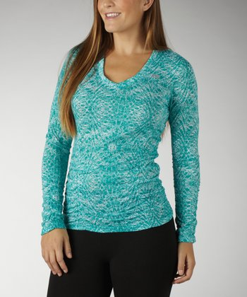 Cerulean Magic Duchess Slimming Burnout Tee