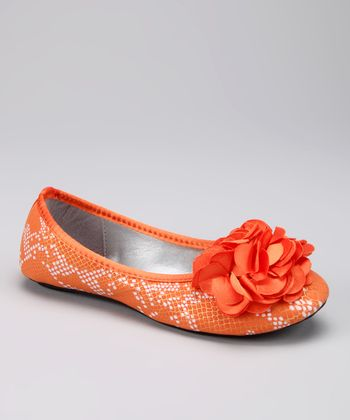 Marilyn Moda Orange Dawn Ballet Flat