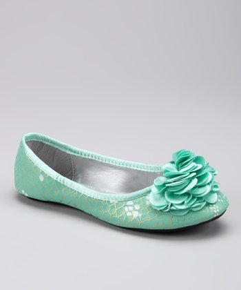 Marilyn Moda Sea Green Dawn Ballet Flat