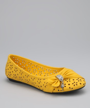 Yellow Machita Flat