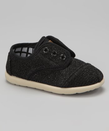 Black Glitter Aaron 2 Slip-On Sneaker
