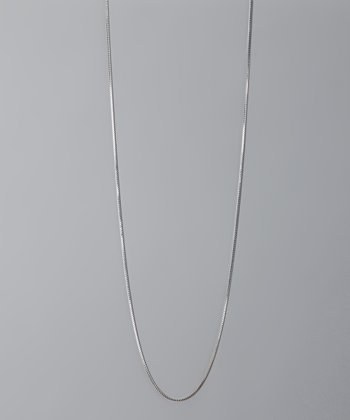 Sterling Silver 30'' Box Chain Necklace