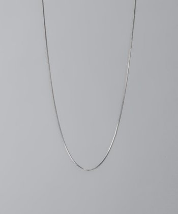 Sterling Silver 20'' Box Chain Necklace