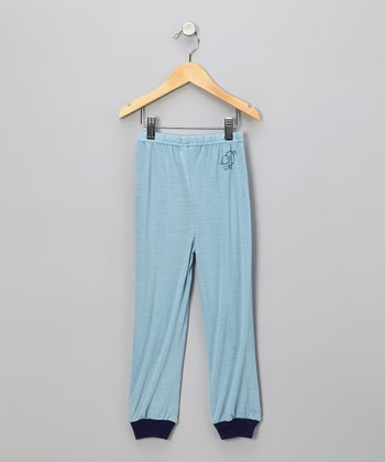 Blue Merino Wool Pants - Infant, Toddler & Kids