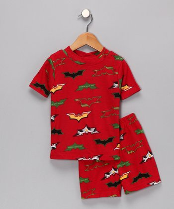 Red Batman Pajama Set - Toddler & Boys