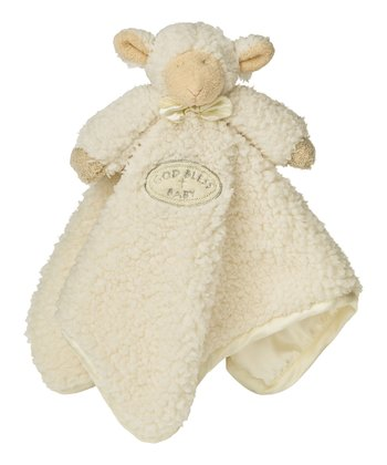 God Bless Baby Lamb Plush Toy Blanket