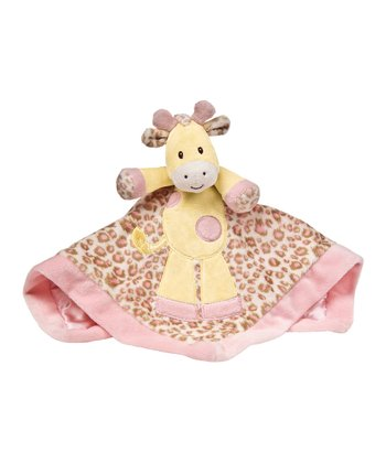 Giraffe Baby Safari Plush Toy Blanket