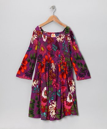 Purple Rain Jazz Dress - Toddler