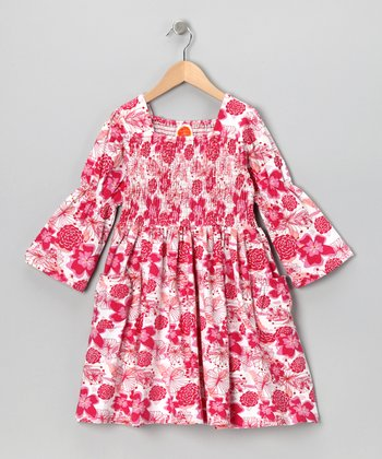 Pink Jazz Love Garden Dress - Toddler & Girls