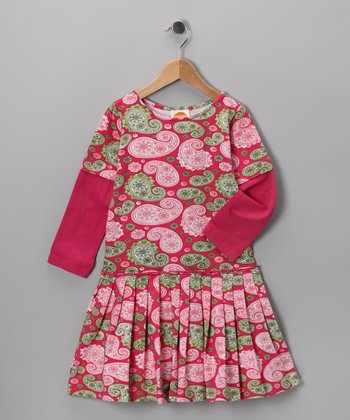 Paisley Parfait Pepa Dress - Toddler & Girls