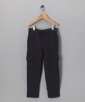 Navy Dandy Pants - Toddler & Boys