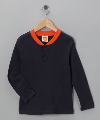 Navy Thermal - Toddler & Boys