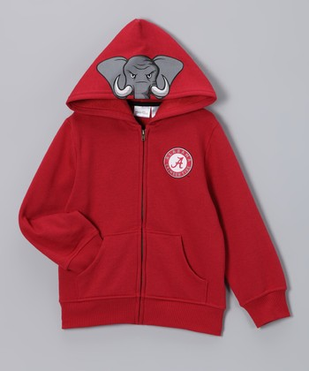 Alabama Crimson Tide Zip-Up Hoodie - Toddler