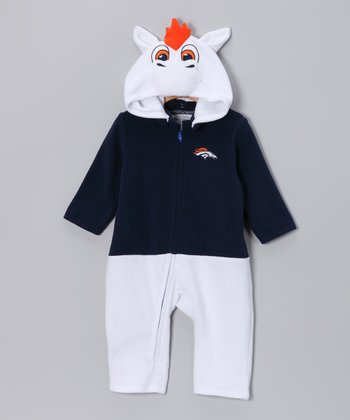 Denver Broncos Fleece Playsuit - Toddler
