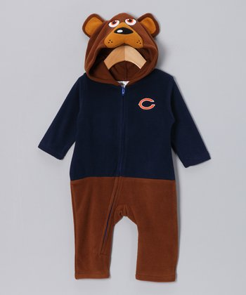 Chicago Bears Fleece Playsuit - Infant & Toddler