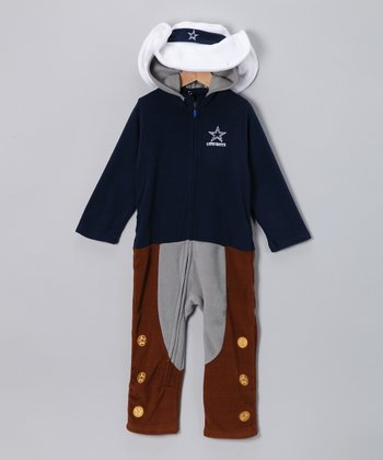 Dallas Cowboys Fleece Playsuit - Infant & Toddler