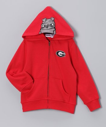 Georgia Bulldogs Zip-Up Hoodie - Toddler & Kids