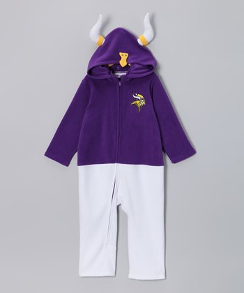 Minnesota Vikings Fleece Playsuit - Infant & Toddler