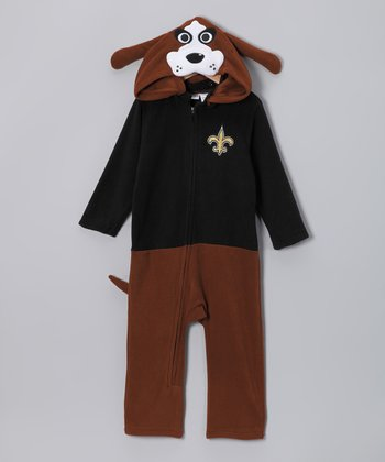New Orleans Saints Fleece Playsuit - Infant & Toddler