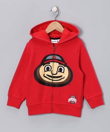 Ohio State Buckeyes Zip-Up Hoodie - Toddler & Kids